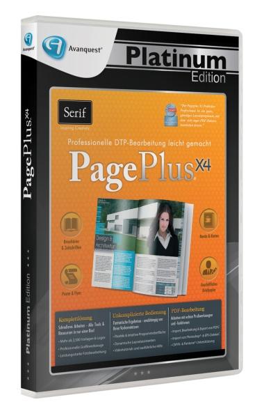 AQ Plat. Ed. - Serif PagePlus X4