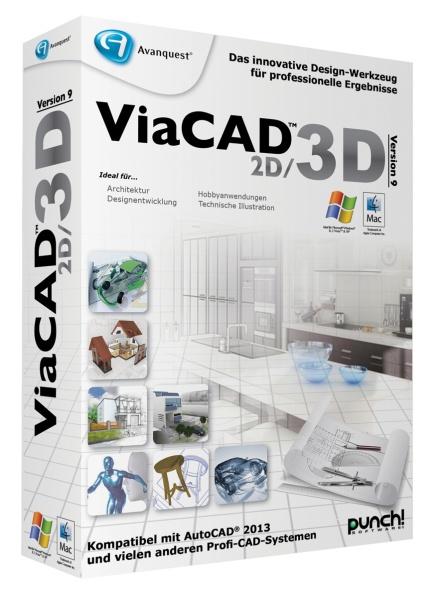 AVANQUEST ESD ViaCAD 2D/3D 9