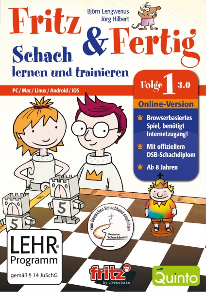 Fritz & Fertig Folge 1 - Schach lernen und trainieren (PC)