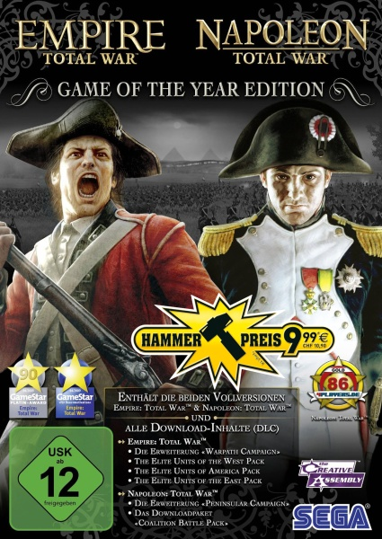 Total War: Empire & Napoleon GOTY (PC) (Hammerpreis)