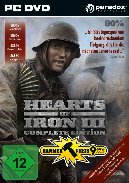 Hearts of Iron 3 Complete Edition (PC) (Hammerpreis)