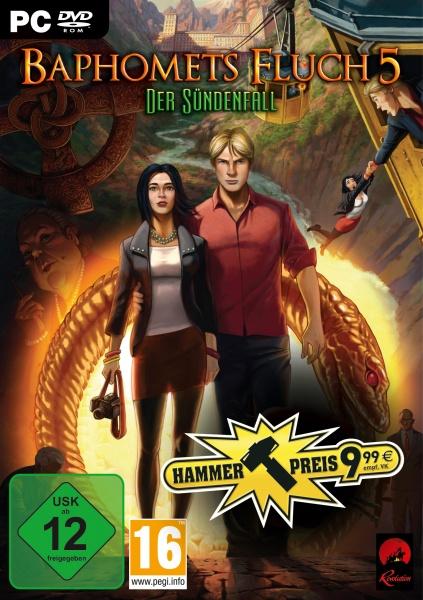 Baphomets Fluch 5: Der S�ndenfall (PC) (Hammerpreis)