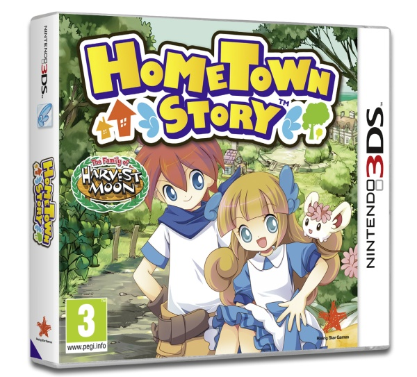 Hometown Story - The Family of Harvest Moon (3DS)