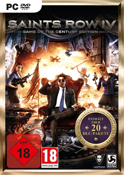 Saints Row IV Game of the Century Edition (PC) Englisch