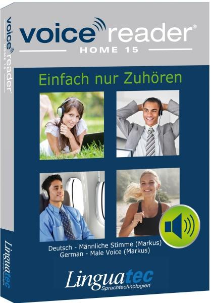 Voice Reader Home 15 Deutsch - m�nnliche Stimme (Markus)