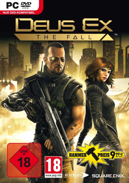 Deus Ex The Fall (PC) Englisch