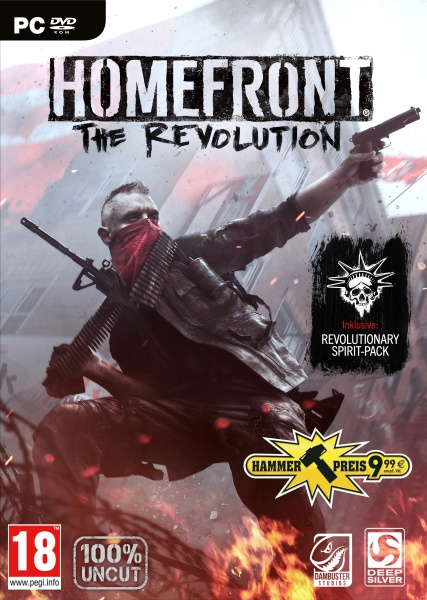 Homefront: The Revolution Day One Edition (100% uncut) (PC) (Hammerpreis)