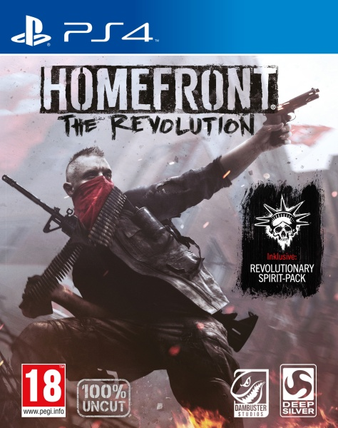 Homefront: The Revolution Day One Edition (100% uncut) (PS4)
