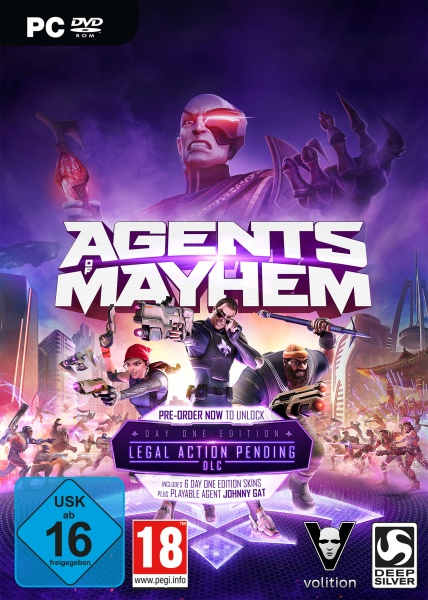 DEEP SILVER Agents of Mayhem Day One Edition - PC-Spiele - Action