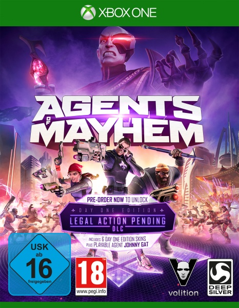 Agents of Mayhem Day One Edition (XONE) Englisch