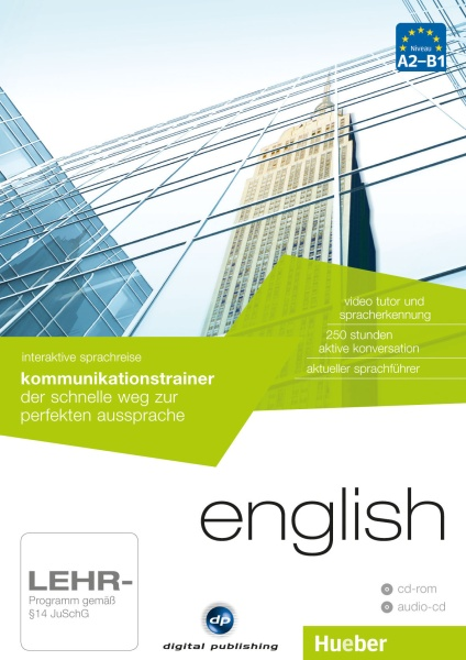 Interaktive Sprachreise: Kommunikationstrainer English