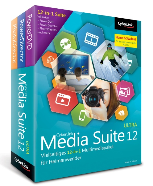Cyberlink Media Suite 12 Ultra Home&Student