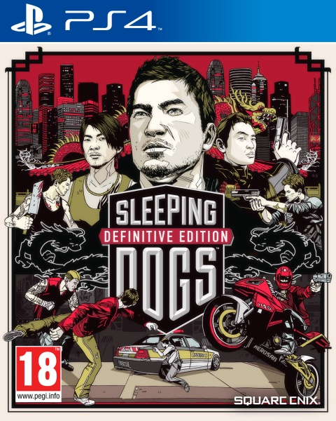 Sleeping Dogs Definitive Edition (PS4) Englisch