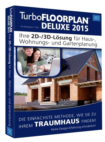 TurboFLOORPLAN 3D Deluxe - 2015 (Windows)