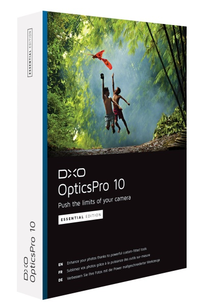 DxO Optics Pro 10 Essentials Multilingual