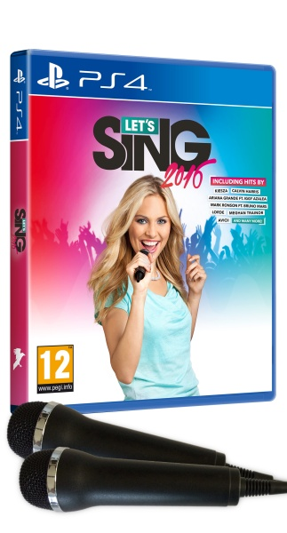 Lets Sing 2016 + 2 Mics (PS4)