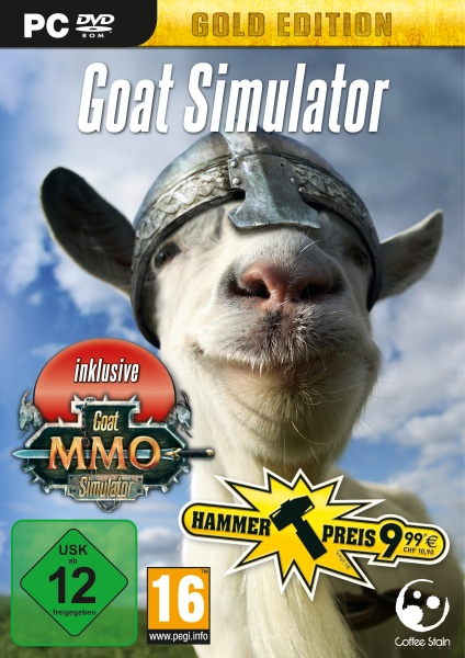 Goat Simulator Gold Edition (PC) Englisch