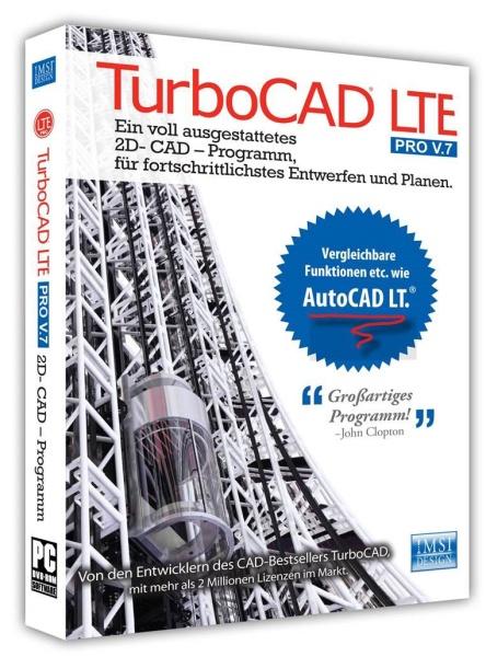 TurboCAD LTE Pro V7