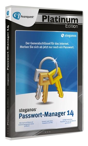 AQ Plat.Ed. - Steganos Passwort-Manager 14