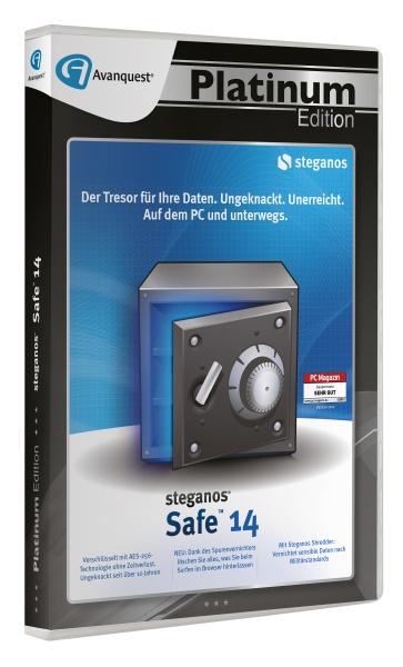 AQ Plat.Ed. - Steganos Safe 14