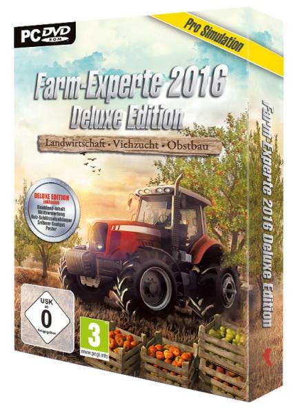 Farm-Experte 2016: Landwirtschaft - Viehzucht - Obstbau Deluxe Edition (PC)