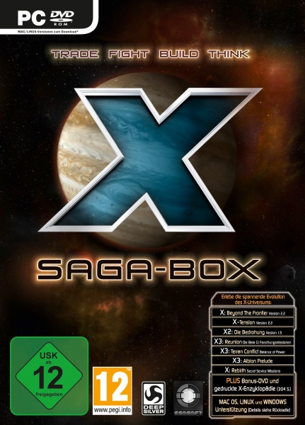 X Saga-Box (PC)