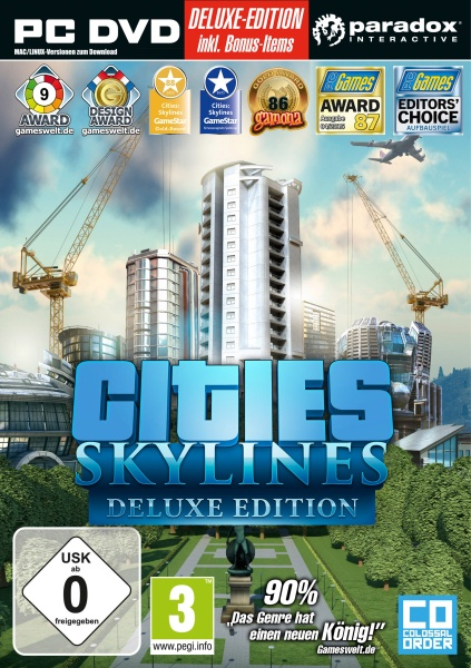 Cities: Skylines Deluxe Edition (PC) Englisch