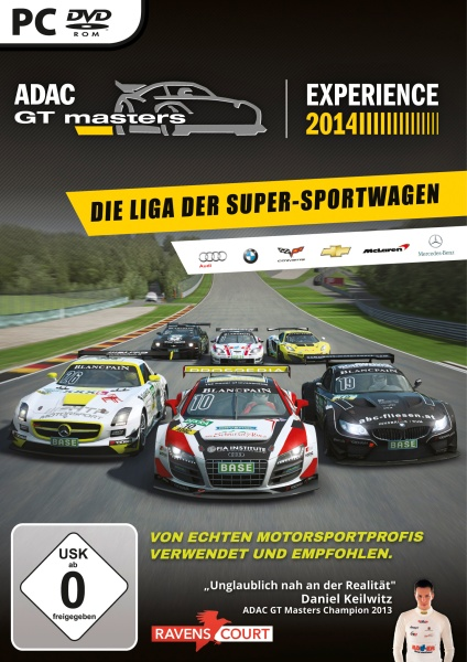 ADAC GT Master Experience 2014 (PC) Englisch