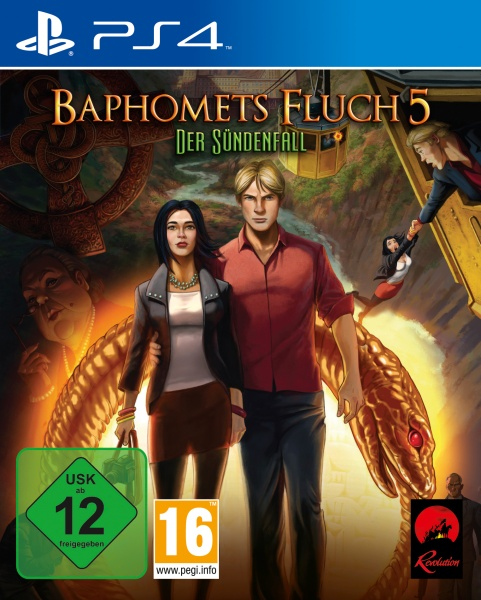 Baphomets Fluch 5 Premium Edition (PS4)