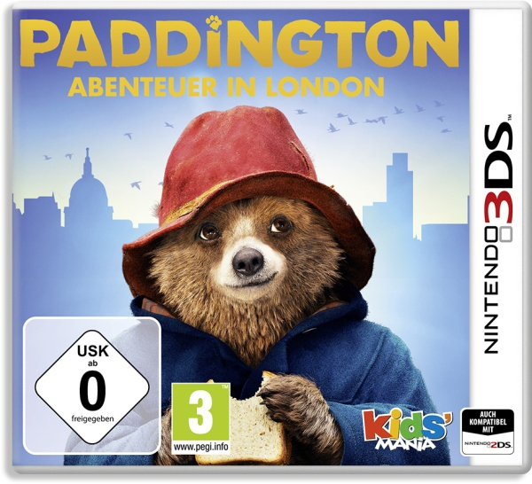 KOCH Media Paddington Abenteuer in London 3DS - Nintendo 3DS - Adventure