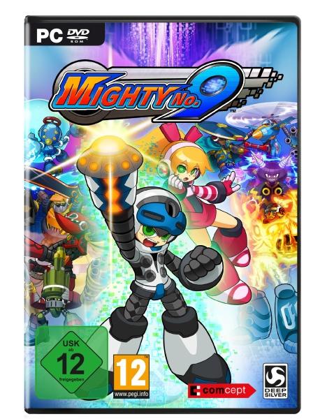 Mighty No.9 PC) Englisch, Französisch