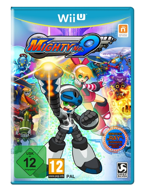Mighty No.9 - Ray-Edition (WiiU) Englisch, Franz�sisch