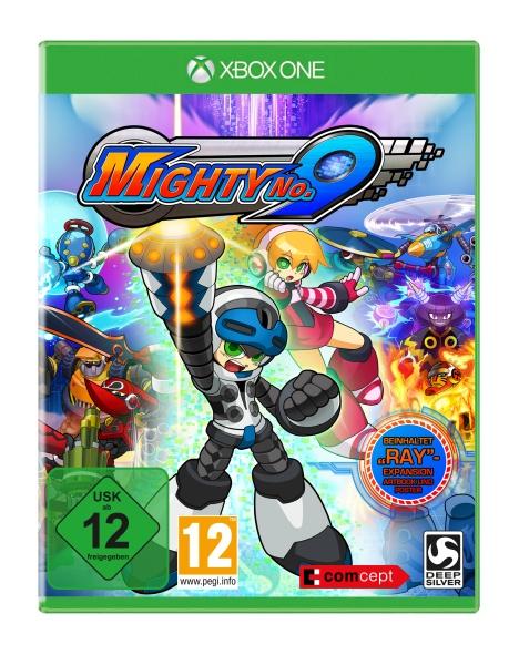 Mighty No.9 - Ray-Edition (XONE) Englisch, Französisch