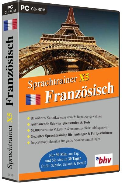 Sprachtrainer X5 Französisch