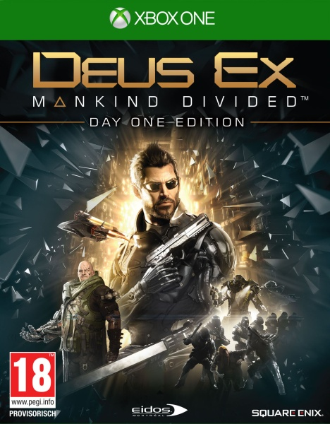 Deus Ex: Mankind Divided Day One Edition (XONE)
