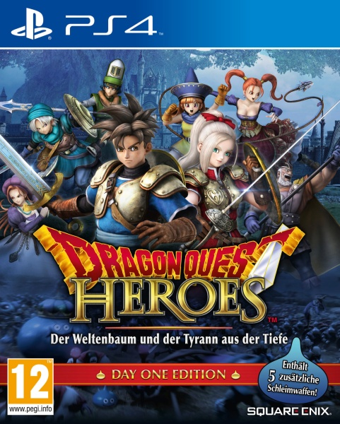 Dragon Quest Heroes Day One Edition (PS4) Englisch, Japanisch
