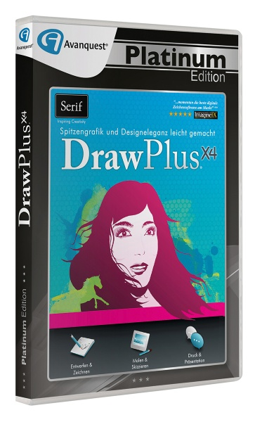 DrawPlus X4 - Avanquest Platinum Edition