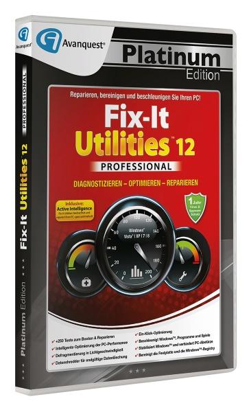 Fix-It Utilities 12 Professional - Avanquest Platinum Edition