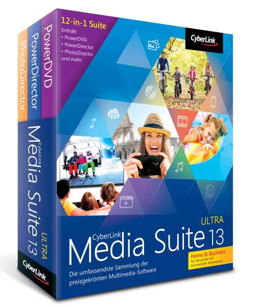 Cyberlink Media Suite 13 Ultra Home & Business