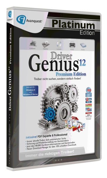 DriverGenius 12 Premium Edition - Avanquest Platinum Edition