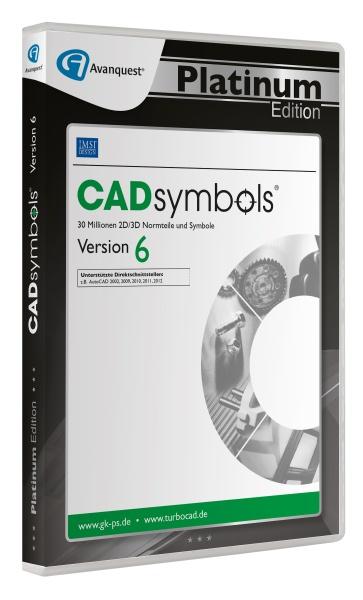 TurboCAD CADSymbols 6 - Avanquest Platinum Edition