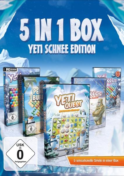 Yeti Schnee Edition 5 in 1 Box (PC)