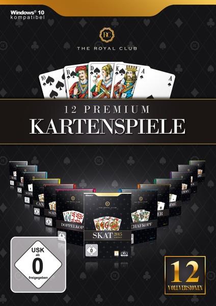 The Royal Club - 12 Premium Kartenspiele (PC)