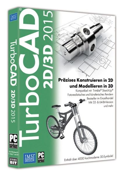 TurboCAD 2D/3D 2015