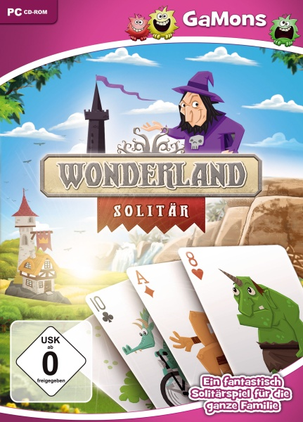 GaMons - Wonderland Solitaire (NEU) (PC)
