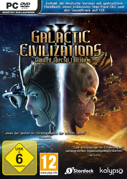 Galactic Civilizations III Limited Special Edition (PC) (Hammerpreis) Englisch