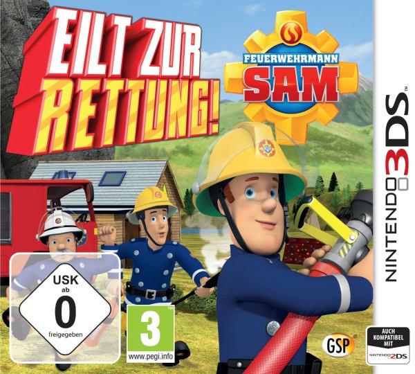 Feuerwehrmann Sam f�r Nintendo 3DS (3DS)