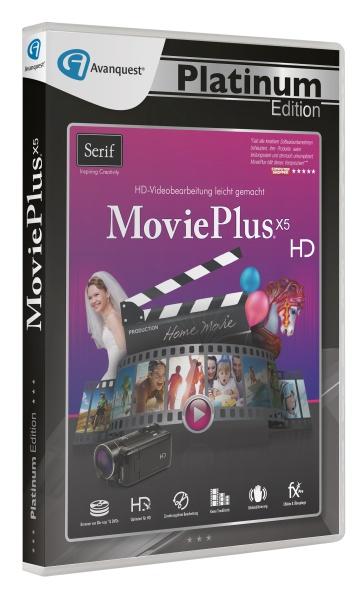 Serif MoviePlus X5 - Avanquest Platinum Edition