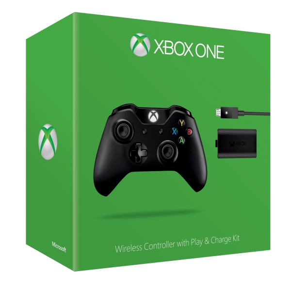 Xbox One Wireless Controller mit Play & Charge Kit