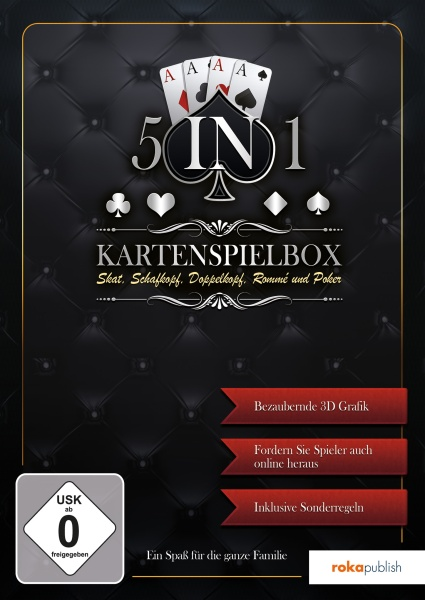 5 in 1 - Kartenspielebox (PC)